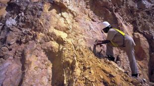 Une mine du groupe sud-africain AngloGold Ashanti à Siguiri, non loin du lieu de drame.