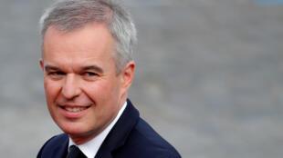 Le député de Loire-Atlantique et ex-ministre de la Transition écologique, François de Rugy.
