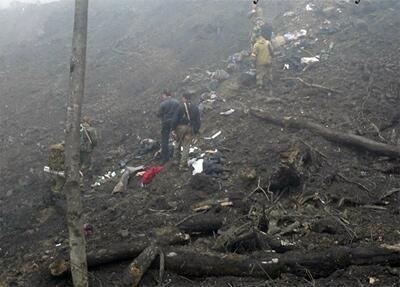 Фотографии с места спецоперации в Ассинском ущелье.  28.03.2011
