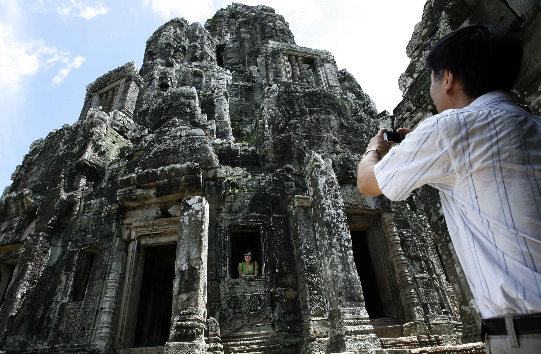 Храмовый комплекс Байон (Ангкор Том).