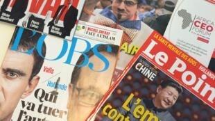 Capas das revistas semanais