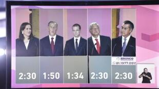 Primeiro debate presidencial no México
