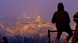 The Royal Castle is seen a veil of heavy winter smog in Budapest, Hungary January 30, 2017