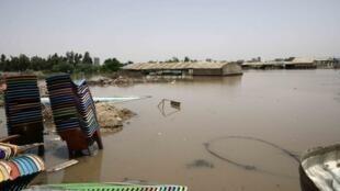 Précédentes inondations à Khartoum, au Soudan.