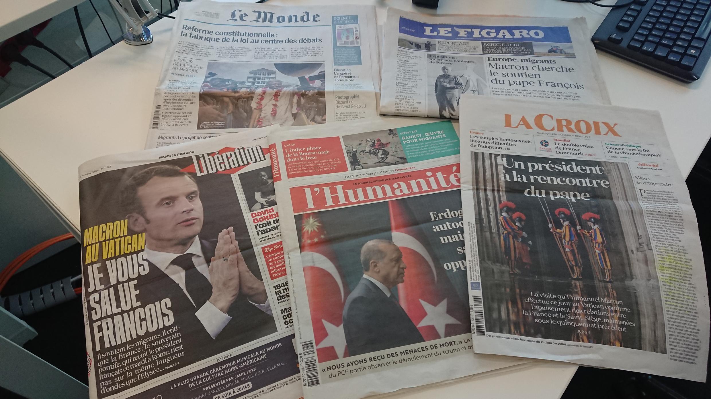 Diários franceses 26.06.2018