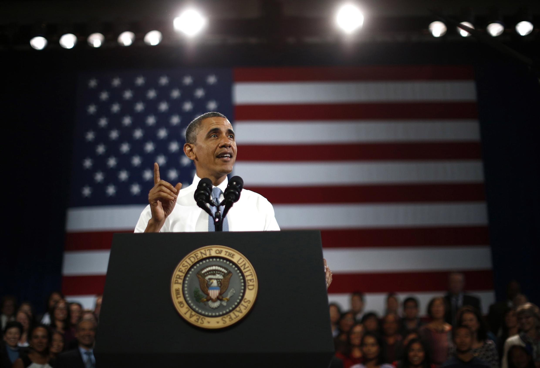 Barack Obama, en déplacement à San Francisco,avait déjà justifié l'accord sur le nucléaire iranien. Il reste ferme sur sa politique de la main tendue.