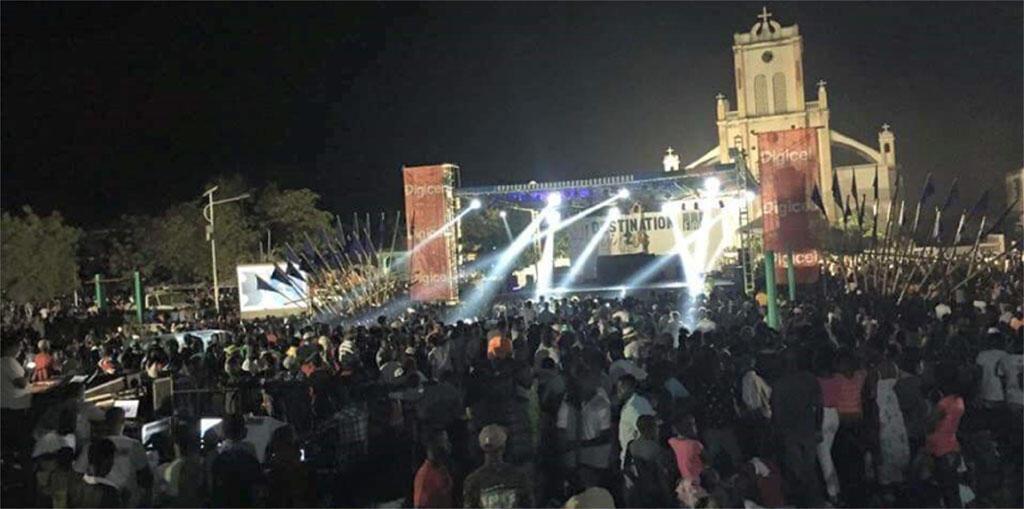 Ukumbi wa muziki nchini Haiti