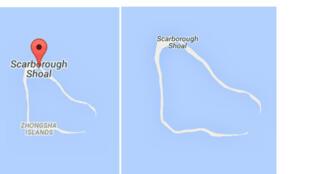 Ảnh chụp từ Google Maps ngày 07/07/2015(T) và ngày 14/04/2015