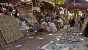 Le marché de jade de Mandalay, en Birmanie.