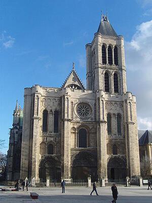 La Basílica de Saint-Denis.