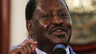 Back in action - Raila Odinga