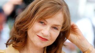 La actriz francesa Isabelle Huppert.
