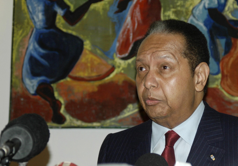 Jean-Claude Duvalier a dirigé Haïti de 1971 à 1986.