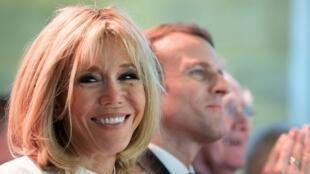 France's 'Frist Lady' Brigitte Macron