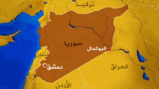 """敘利亞邊境的布卡麥勒""""BOUKAMAL"""""""