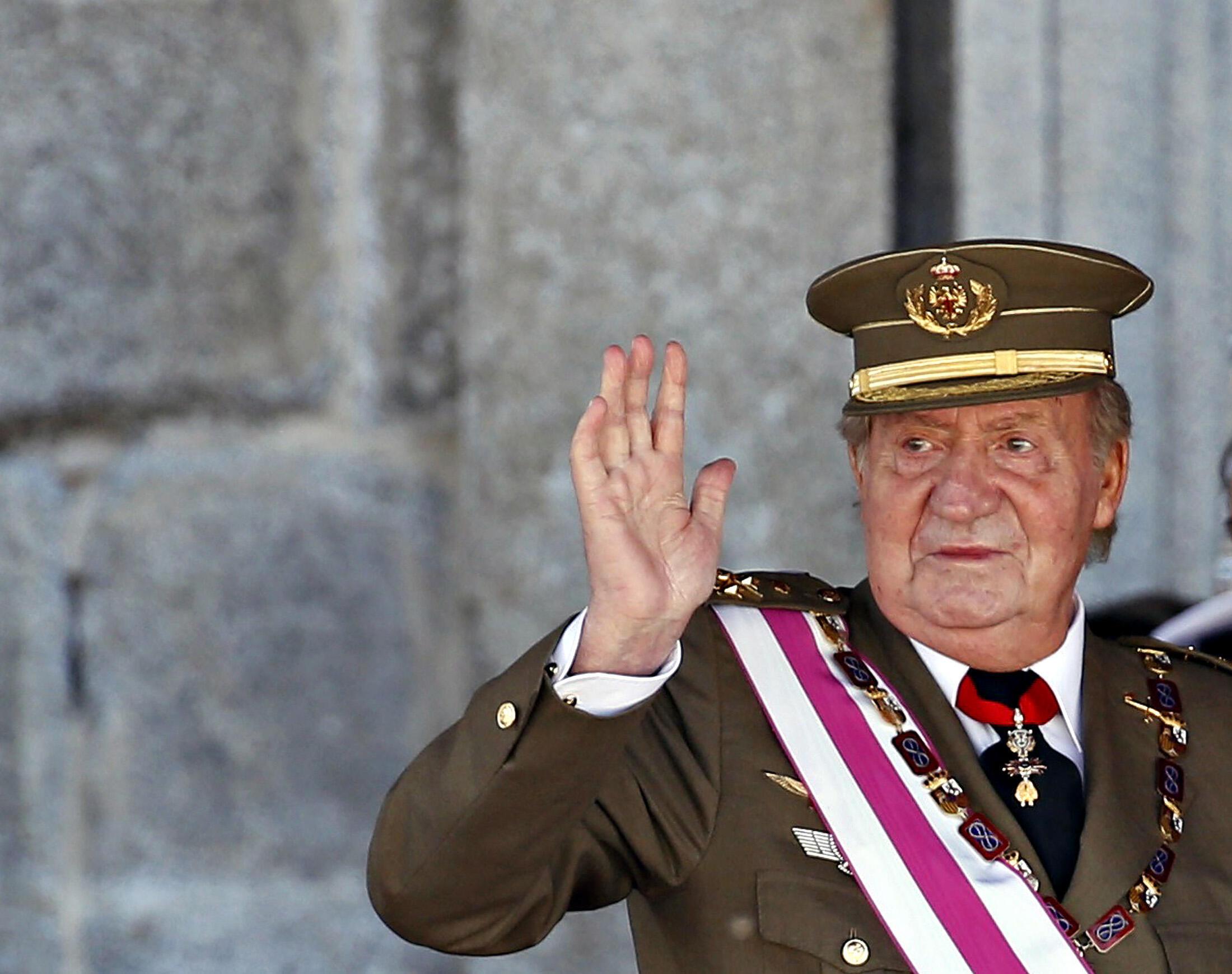 Tshon sarkin kasar Spain Juan Carlos