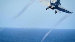 Les six avions de combat Hornet ont participé aux frappes de la coalition ces trois dernières années.