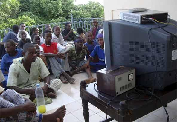 Watching the World Cup in government-controlled Mogadishu