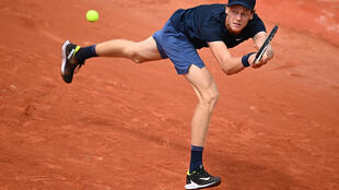 Jannik Sinner was one of three Italians who reached the last 16 at the French Open on Saturday.
