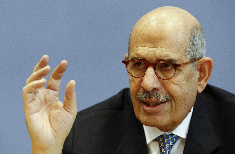 Mohamed el-Baradei (ici en 2009) vient de démissionner de son poste de vice-président, à la suite de la journée de violences du 14 août 2013.