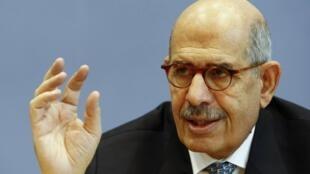 Mohamed el-Baradei (ici en 2009), a renoncé à se présenter à l'élection présidentielle qui doit avoir lieu à l'été 2012.