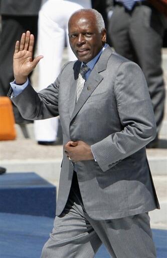 O presidente angolano José Eduardo dos Santos.