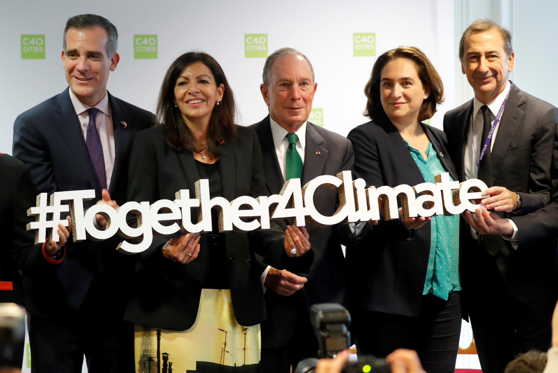 巴黎市長伊達爾戈女士擔任C40組織的主席