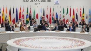 Thượng đỉnh G20 tại Osaka. Ảnh 29/06/2019.