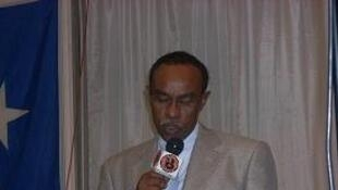 Le ministre de l'Intérieur du Puntland, Abdullahi Ahmed Jama.