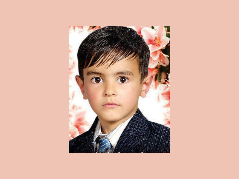 علی سینا نوروزی، کودکی که در شهر هرات بدست گروگانگیرها بقتل رسید