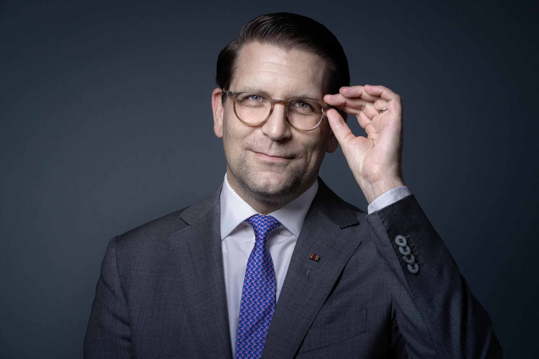 Alexander Neef, le nouveau directeur de l'Opéra de Paris, a présenté le 8 février 2021 le nouveau rapport sur la diversité à l'Opéra de Paris. © JOEL SAGET / AFP