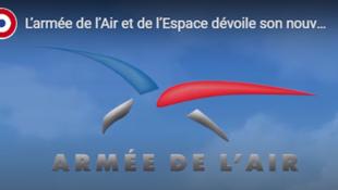 Le nouveau logo de l'Armée de l'air et de l'espace.