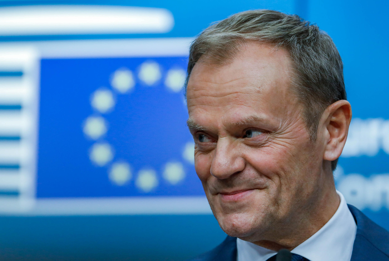 Donald Tusk, président du Conseil européen, le 9 mars 2017 à Bruxelles.