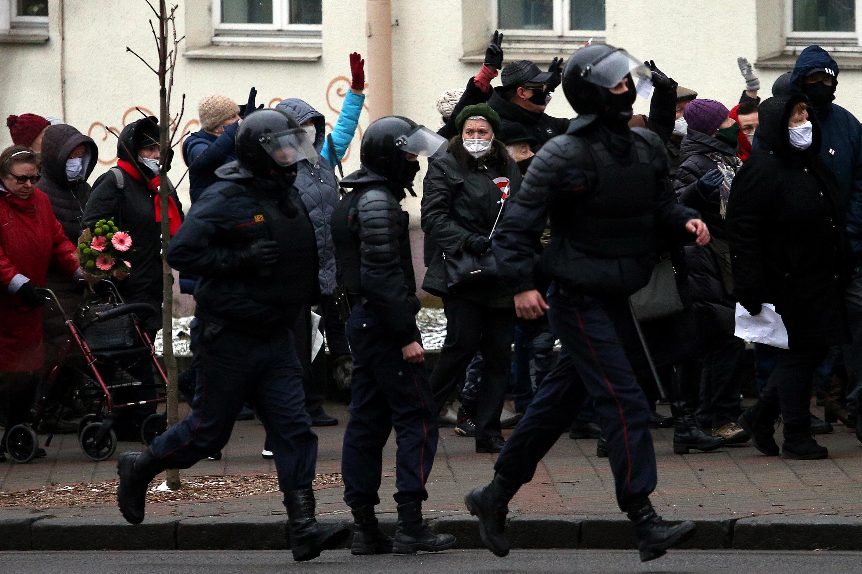 Протесты в Минске, ноябрь 2020