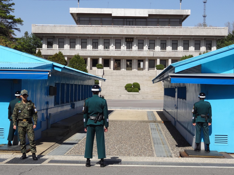 La zone démilitarisée (DMZ) où aura lieu la rencontre entre les présidents coréens Kim Jong-un et Moon Jae-in.