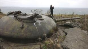 俄罗斯总统梅德韦杰夫2010年11月1日视察北方四岛激化日俄矛盾