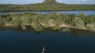 Rivière Tapajos à Alter do Chao, district de Santarem, État de Para, Brésil