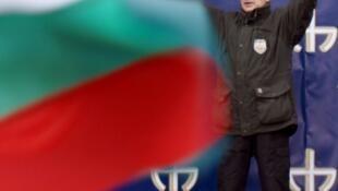 Volen Siderov, leader of the Bulgarian utrla-nationalist party Ataka
