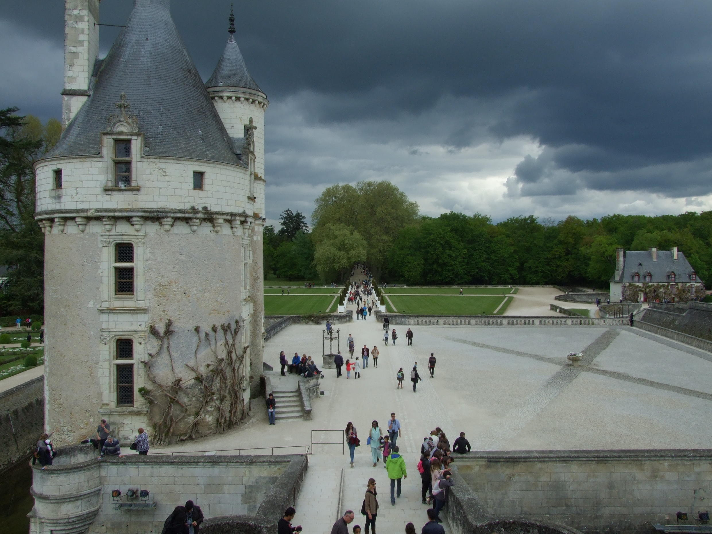The Château de Chenonceau is the most-visited site in the Loire Valley