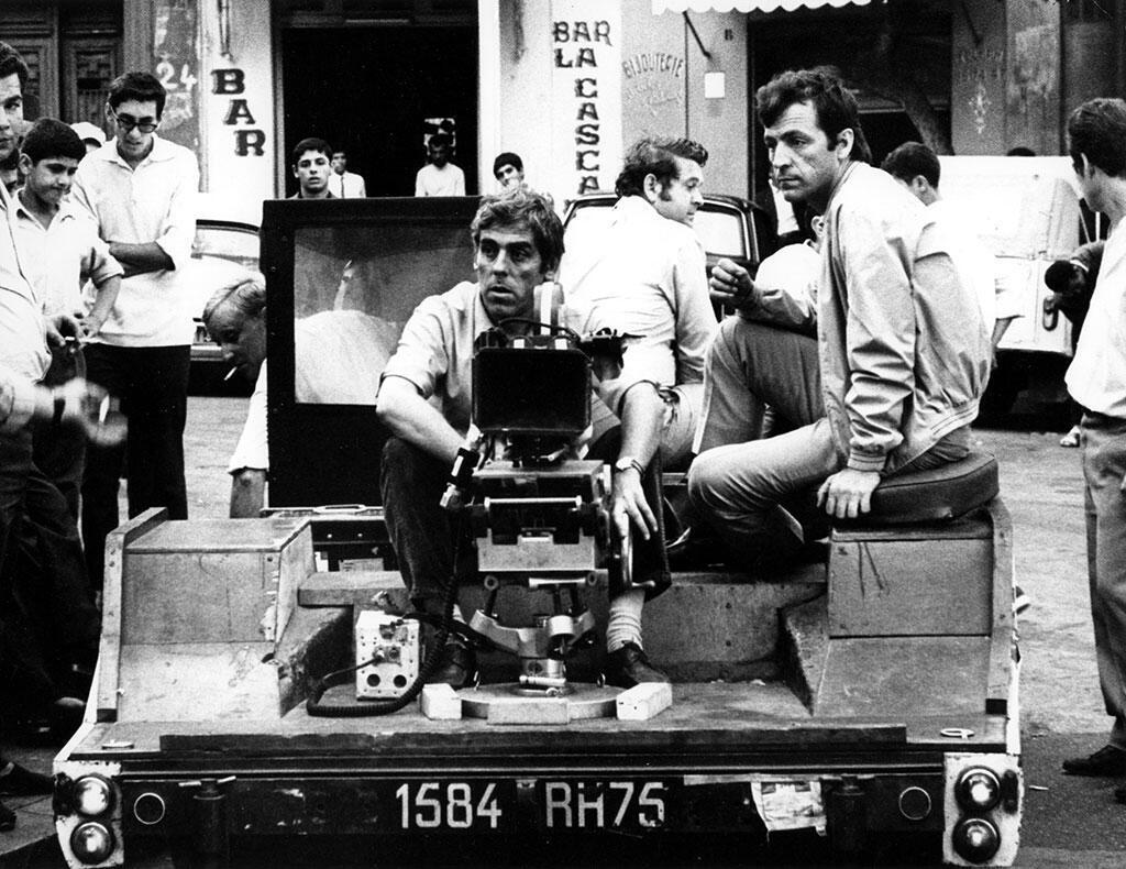 """فیلمبرداری """"زِد"""" در الجزایر - ١٩۶٨: کوستا گاوراس و رائول کوتار، فیلمبردار بزرگ فرانسوی"""