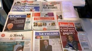 Diários franceses 09/09/2014