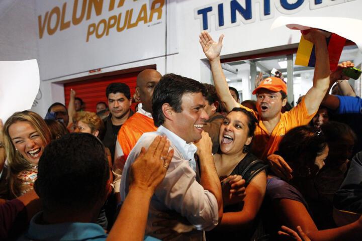 El venezolano Leopoldo López, líder de 'Voluntad Popular'.