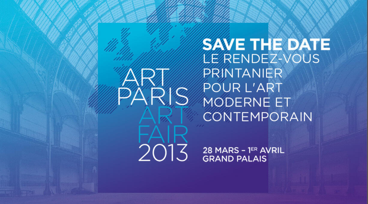 Афиша с сайта Art Paris Art Fair
