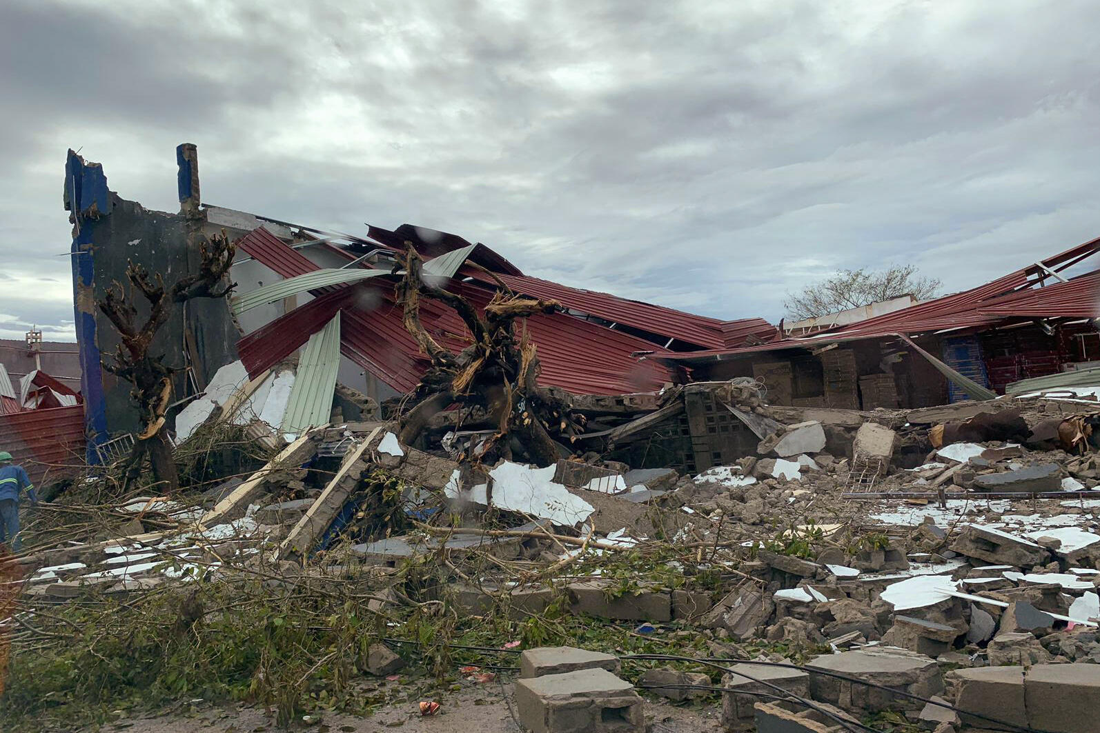 Passagem do ciclone Idai por Moçambique.