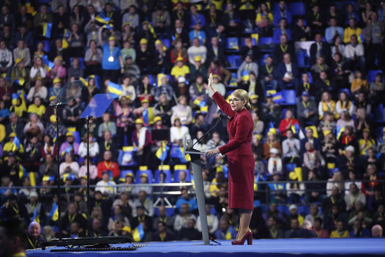 Юлия Тимошенко занимает второе место в антирейтинге кандинатов на пост президента Украины