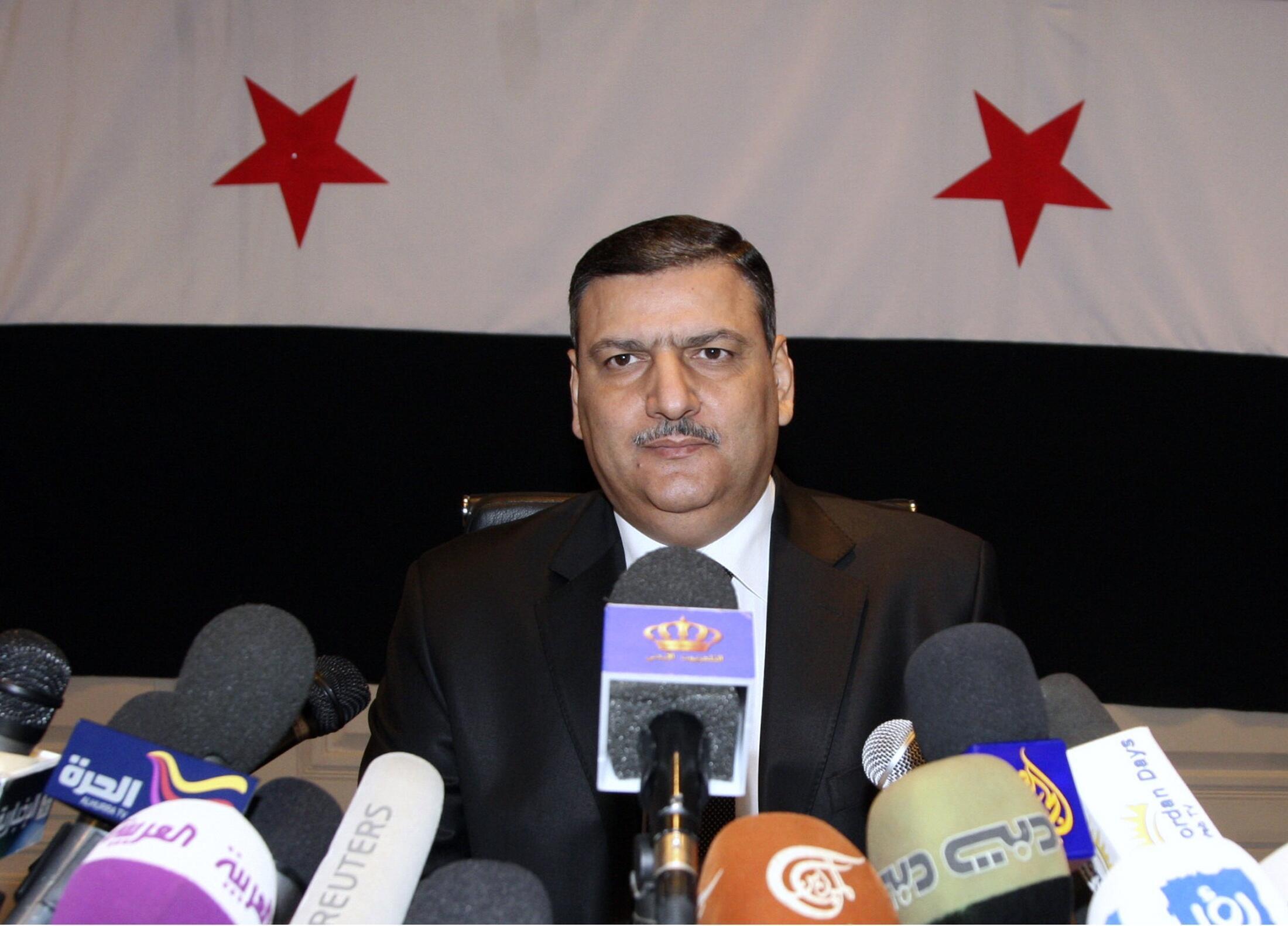 Координатор делегации сирийской оппозиции Рияд Хиджаб