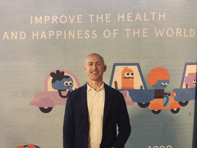 O ex-monge britânico Andy Puddicombe faz sucesso com o aplicativo Headspace