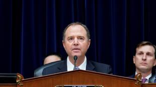 Adam Schiff, presidente da Comissão de Inteligência da Câmara de Representantes dos EUA.
