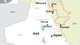 اقلیم خودگردان کردستان عراق گروه های وابسته به ایران را به حملۀ راکتی به نیروهای آمریکایی متهم کرد.