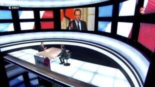 Tổng thống François Hollande trả lời France 2, 28/03/2013.